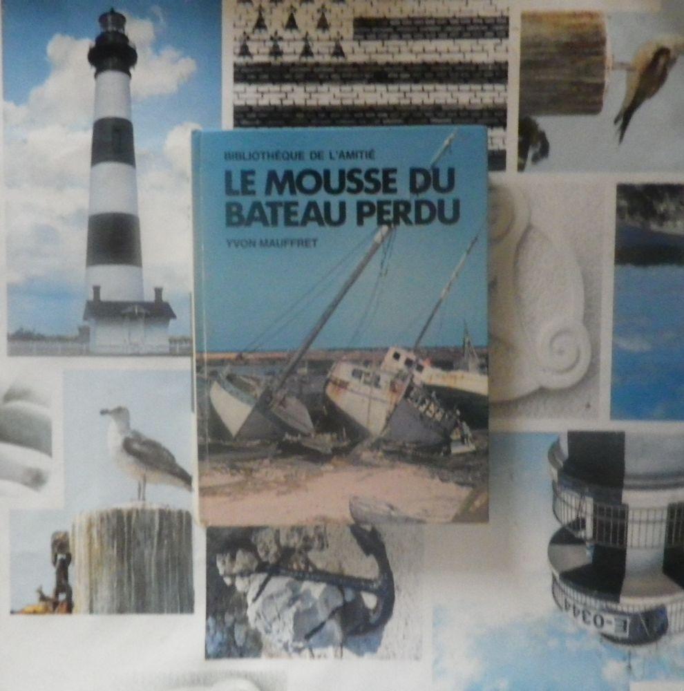 LE MOUSSE DU BATEAU PERDU de Yvon MAUFFRET Bibliothèque de l 4 Bubry (56)