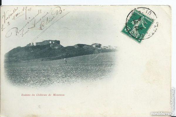 mousson ruines du chateau 1cpa 54
