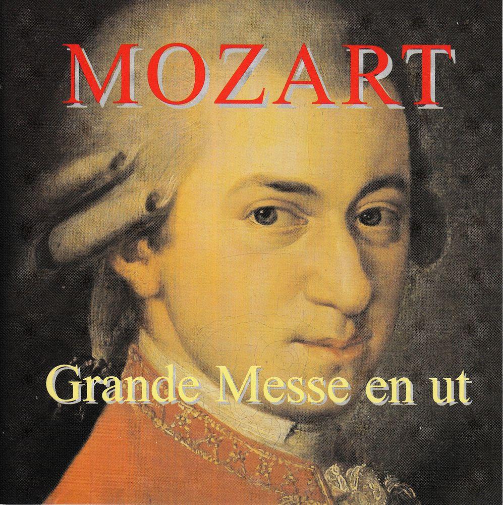 CD  Mozart    Grande Messe En Ut Mineur, KV 427, Complétée 22 Antony (92)