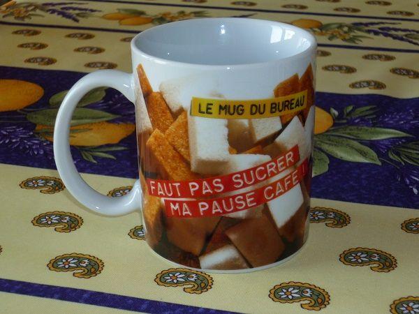 Mugs bureau humour café cuisine tagada HARIBO pause travail  4 Fèves (57)
