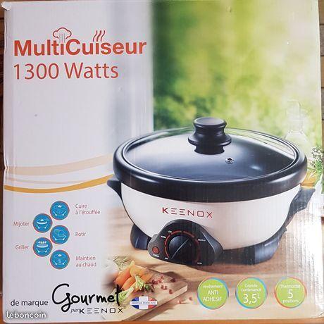 Multicuiseur 1300W Gourmet Keenox NEUF 30 Pantin (93)