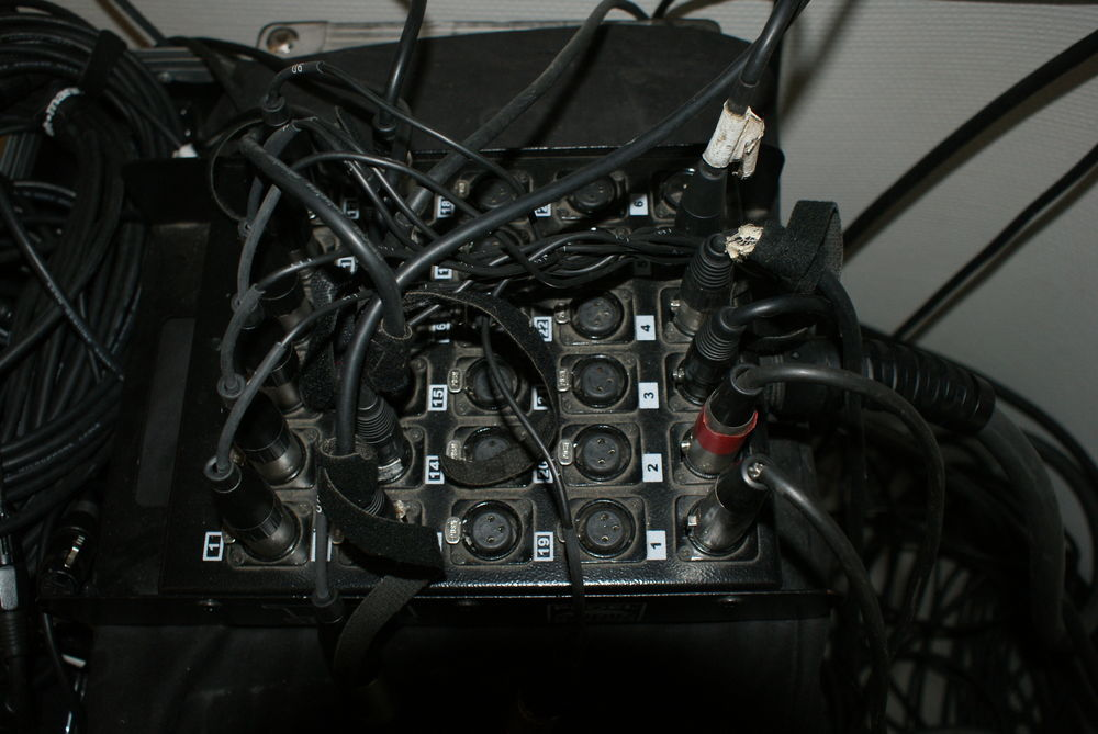 Multipaire audio 24/6 XLR 40 mètres 280 Bacqueville (27)