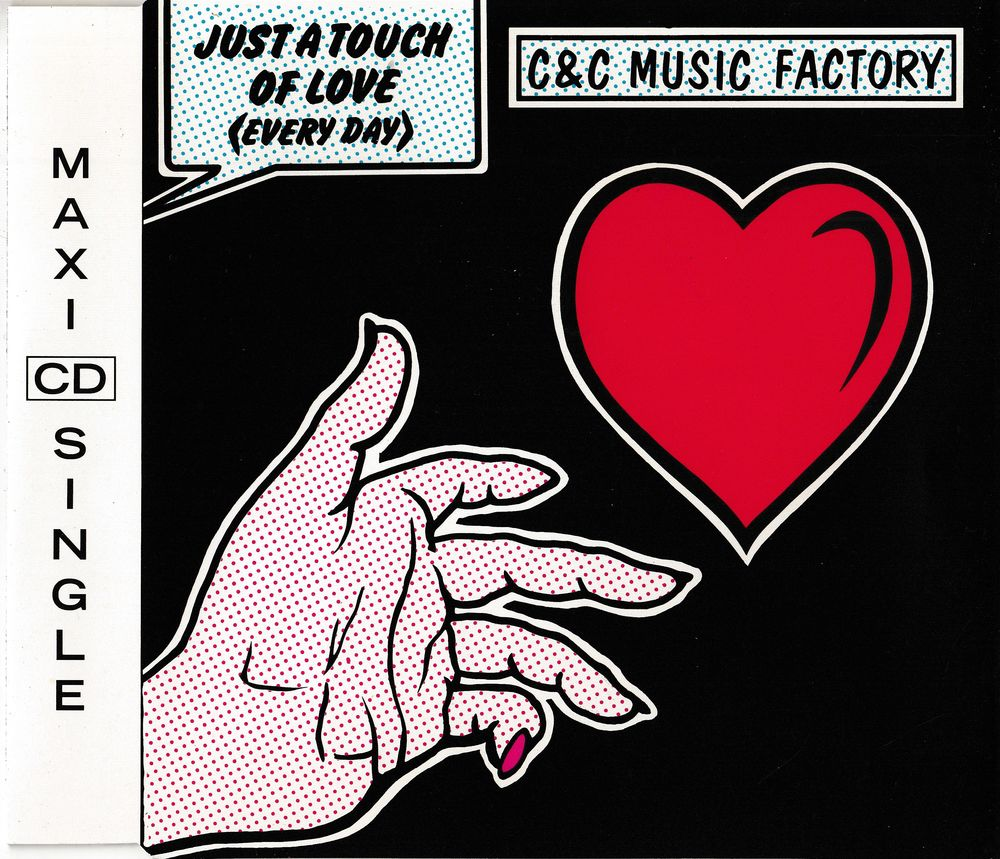 CD  C & C Music Factory  -   Just A Touch Of Love (Everyday) 4 Antony (92)