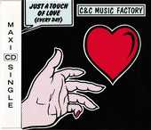 CD  C & C Music Factory  -   Just A Touch Of Love (Everyday) 4 Bagnolet (93)