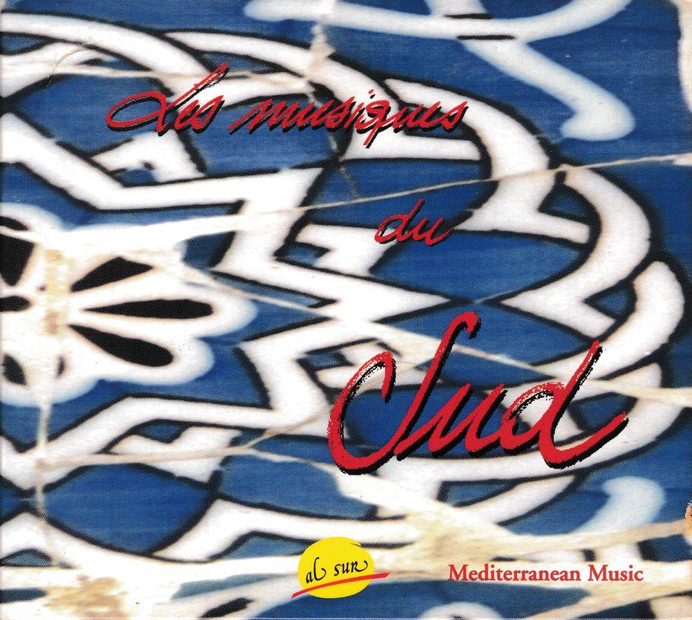 CD Les Musiques Du Sud Mediterranean Music Compilation 6 Bagnolet (93)