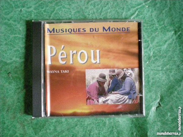 CD Musiques du monde Pérou  « Wayna taki » 2 Saleilles (66)