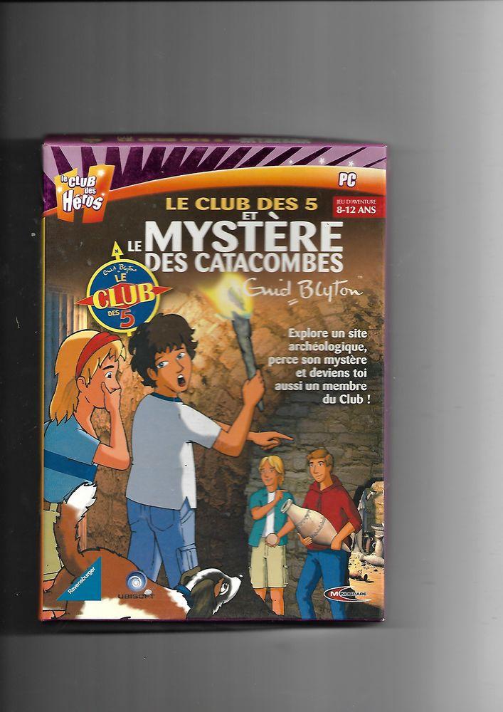 JEU PC LE MYSTER DES CATACOMBES 7 Saint-Denis-en-Val (45)