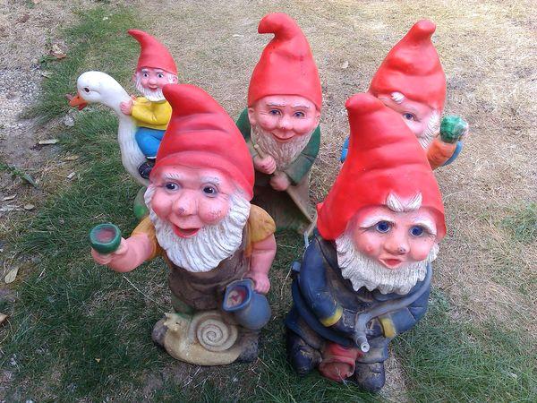 Achetez nains de jardin lot occasion, annonce vente à ...