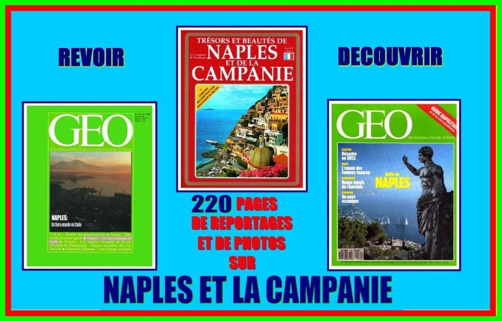 NAPLES -géo - LA CAMPANIE / prixportcompris 24 Lille (59)