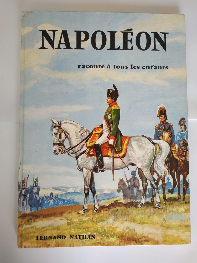 VIE DE NAPOLEON ILLUSTREE POUR LES JEUNES, LIVRE DE 1962 15 Paris 15 (75)