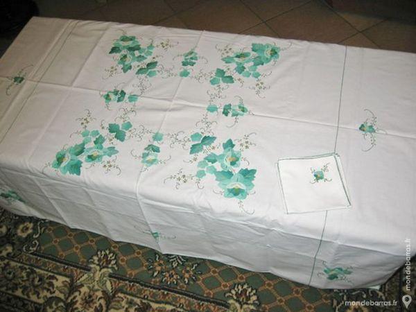 Nappe avec serviettes Décoration