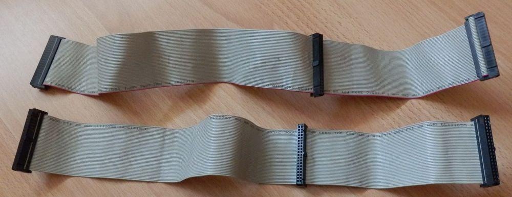 Nappe (2) IDE 3 barrettes de 40 pins femelle : TBE 3 Évry (91)