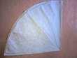 Nappe grise ronde Becquet. Neuve Décoration