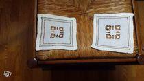 2 napperons carrés anciens et autres modèles 0 Mérignies (59)