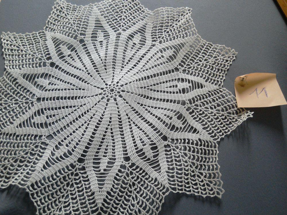 Napperons  Crochet 9 Toulon (83)