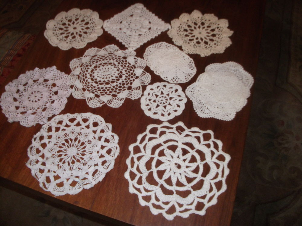 napperons crochet Décoration