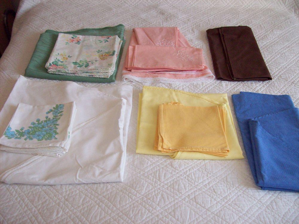 NAPPES + serviettes. 10 Saint-Jean-d'Illac (33)