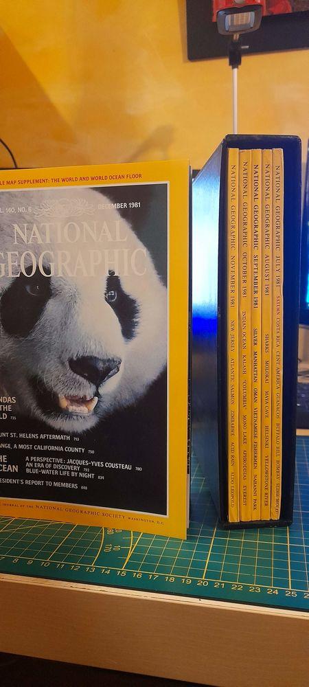 National Geographique revues ( anglais)