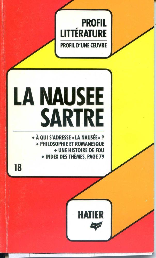 La nausée - Sartre - profil littérature, Livres et BD