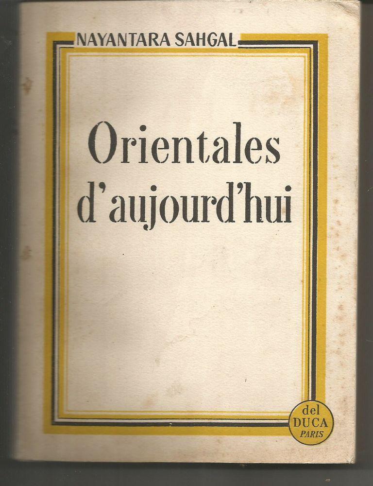 Nayantara SAHGAL Orientales d'aujourd'hui 6 Montauban (82)