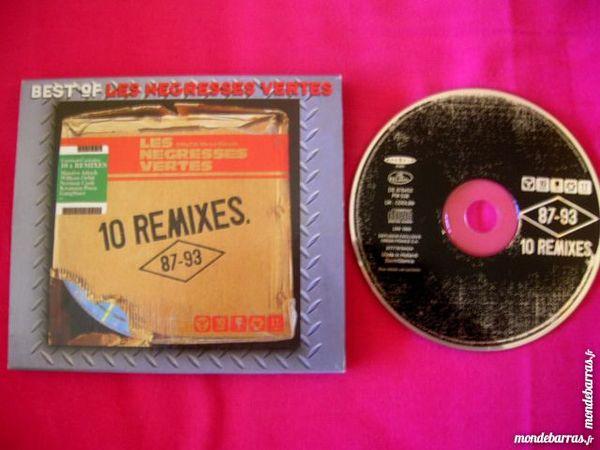 CD LES NEGRESSES VERTES 10 Remixes (87-93) 8 Nantes (44)