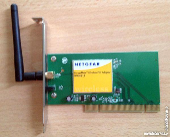 Netgear rangemax wireless pci adapter wpn311 wifi 5 Courbevoie (92)