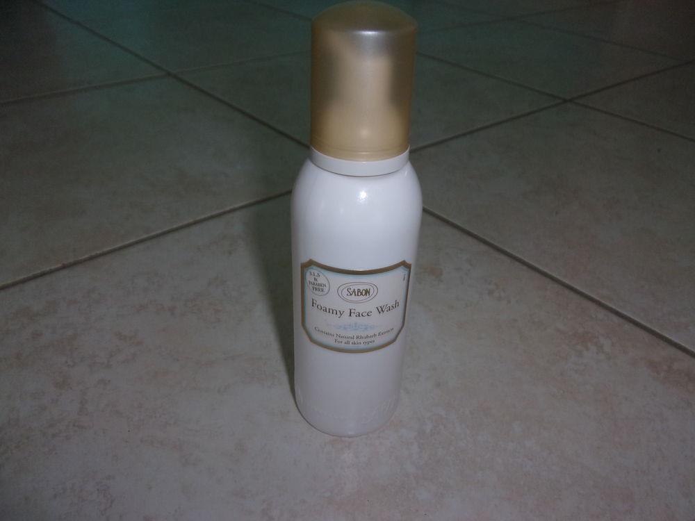 Nettoyant mousse pour visage SABON- 200ml (Neuf) 15 Ardoix (07)