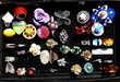 LOT NEUF * 38 bagues fantaisie Bijoux et montres