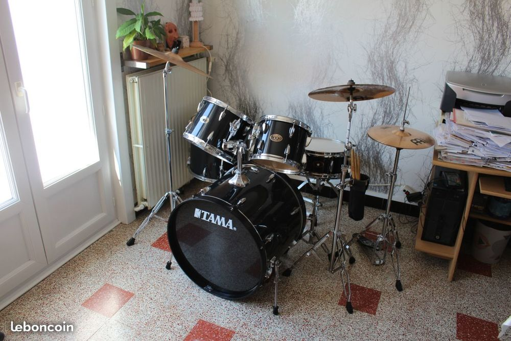 NEUF Batterie Tama Imperialstar kit complet + cymbales 500 Abscon (59)