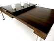 NEUF - Création table basse ART N°3 bois massif LED sans fil Meubles