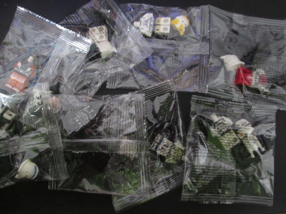 lot neuf de 8 figurines star wars dans des sachets scellés Jeux / jouets