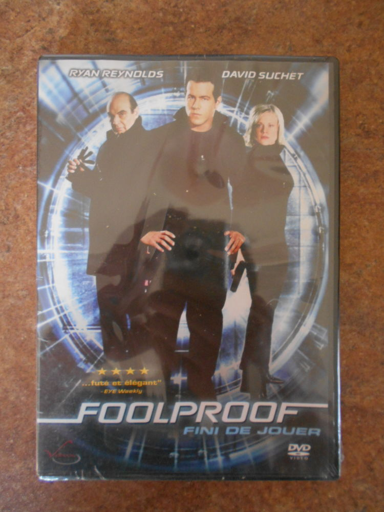 dvd neuf Foolproof 3 Ludres (54)