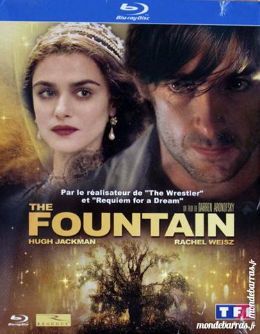 Blu Ray neuf: The FOUNTAIN 6 Le Perreux-sur-Marne (94)