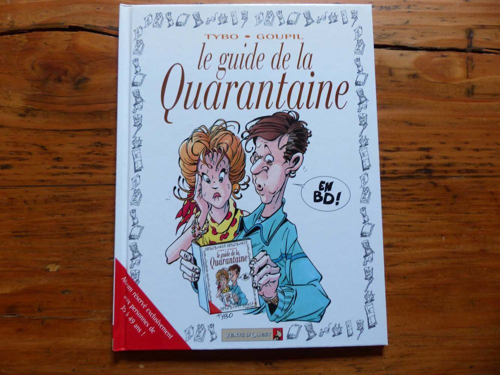 Neuf : BD  Le guide de la quarantaine  5 Strasbourg (67)