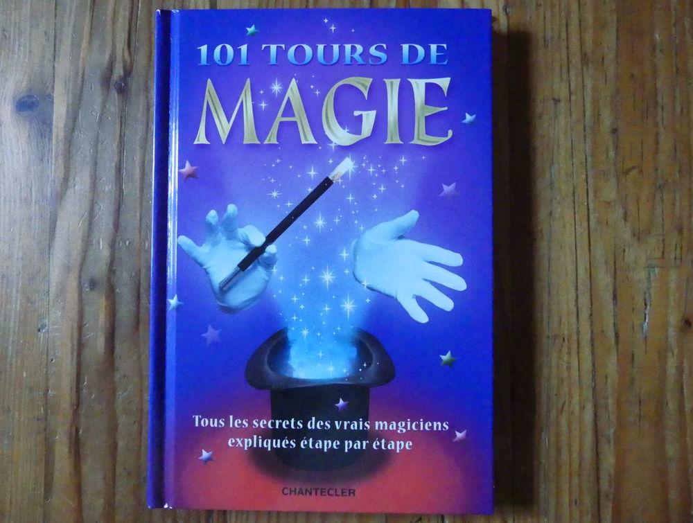 Neuf : livre  101 tours de magie  6 Strasbourg (67)