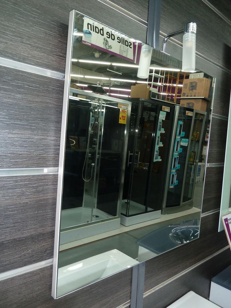NEUF Miroir à suspendre 60X60cm.Avec halogène.NEUF 50 Gujan-Mestras (33)