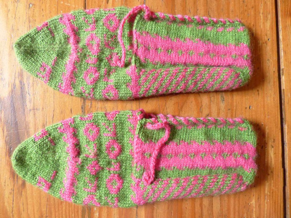 Neuf : paire de chaussons en laine 7 Strasbourg (67)
