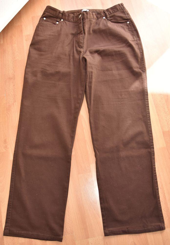 NEUF. Pantalon Droit marron. 44. Bleu bonheur.NEUF.  10 Gujan-Mestras (33)