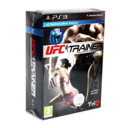 Jeu PS3 Neuf  UFC Personal Trainer avec strap de cuisse 35 Ardoix (07)