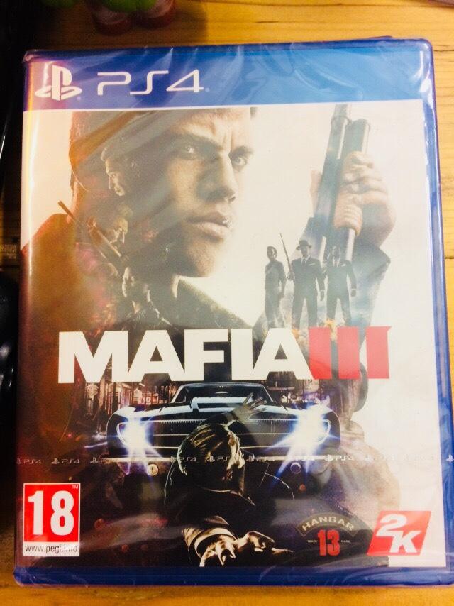 Neuf pour PS4 : MAFIA III 30 Privas (07)
