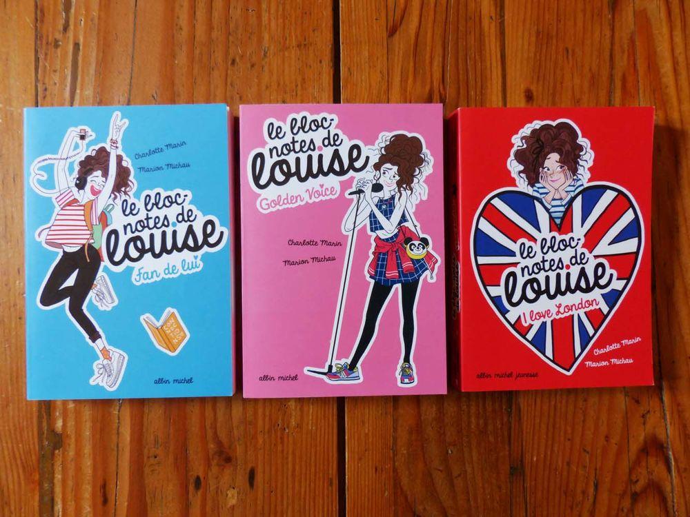 """Neuf : série 3 livres """"Le bloc-notes de Louise"""" Livres et BD"""