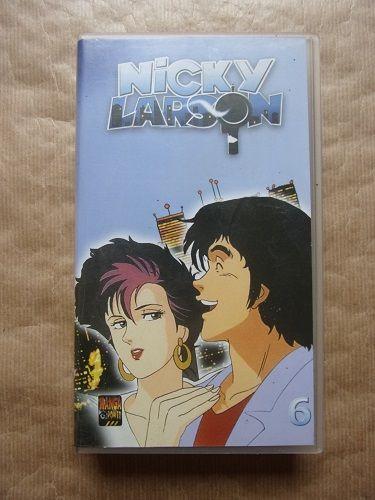 VHS Nicky Larson 1 Montaigu-la-Brisette (50)
