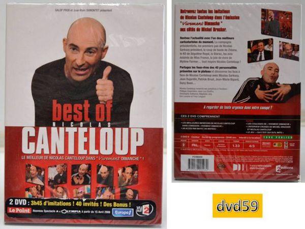 2 dvd NICOLAS CANTELOUP VIVE DIMANCHE - NEUF 10 Mons-en-Barœul (59)