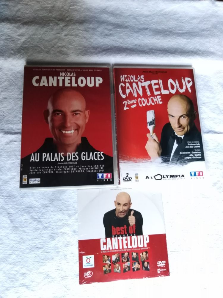 3 DVD Nicolas canteloup 6 Avermes (03)