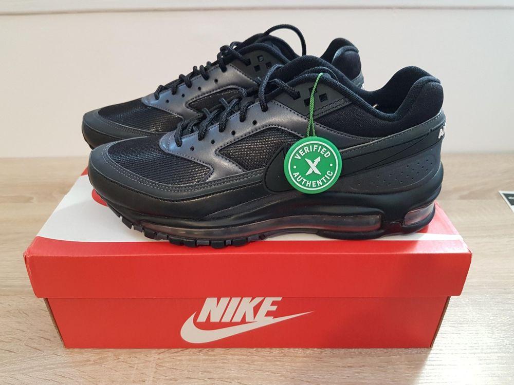 Nike Air Max 97 BW Black Metallic Hematite 41 EU 8 US Neuves 179 Sens (89)