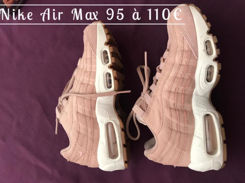 air max 95 rose pale occasion