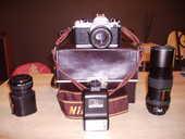 Nikon FM appareil photo argentique +objectifs 180 Charmont-sous-Barbuise (10)