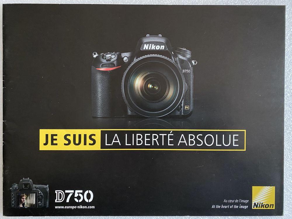 NIKON D750 Brochure en Français 10 Joué-lès-Tours (37)