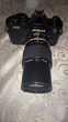 Nikon FM2 noire avec objectif 200mm Nikon