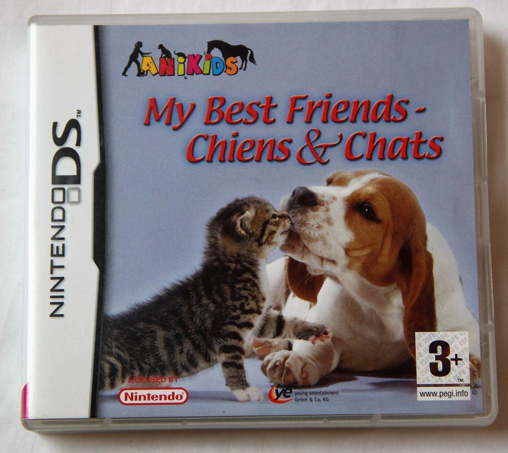 Jeu Nintendo DS-My  Best Friends-Chiens & Chats 5 Wambrechies (59)
